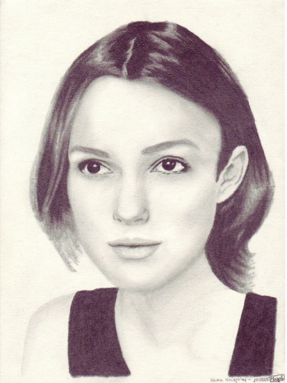 Keira Knightley by Mag
